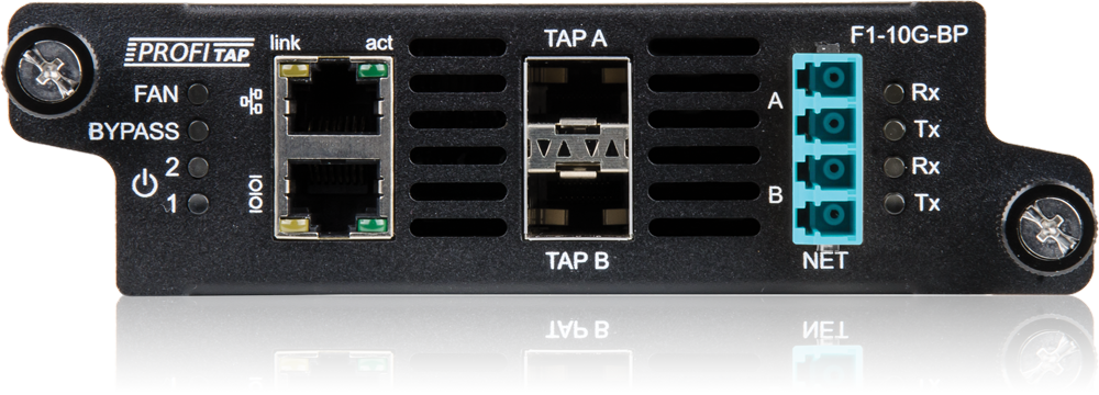 10G Bypass TAP Front