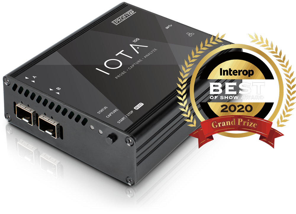IOTA 10G Best of Show Award