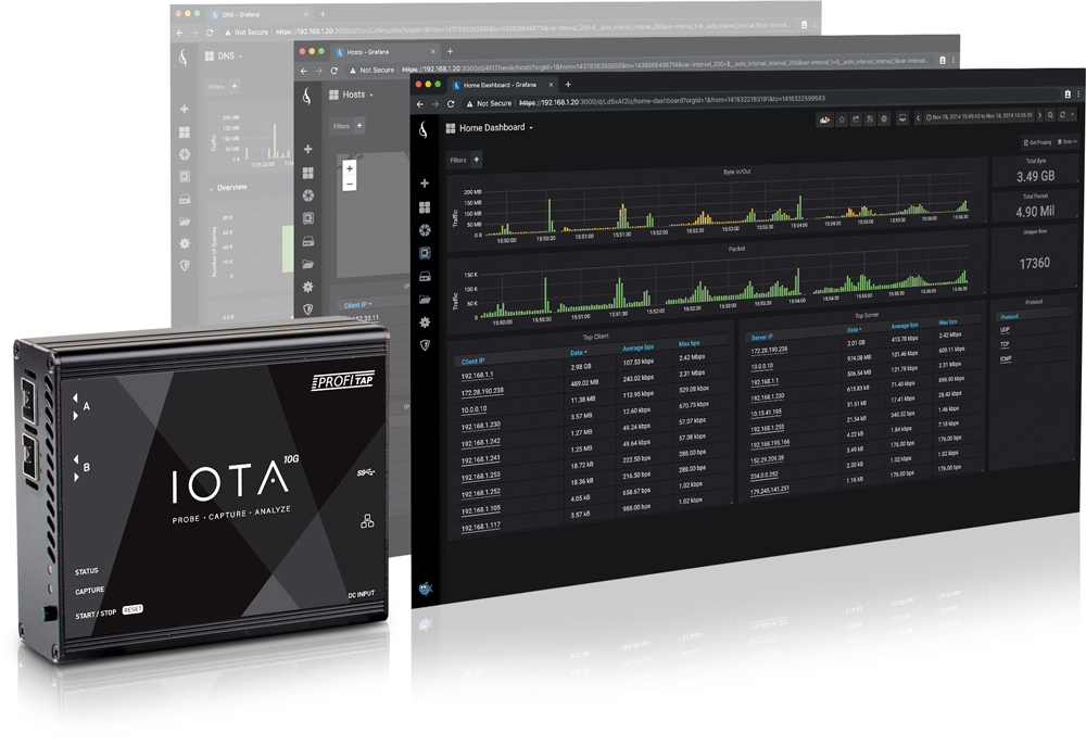 Profitap IOTA 10G All-in-One Network Analysis Tool